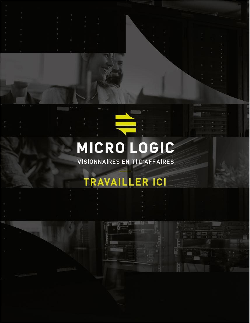Travailler chez Micro Logic