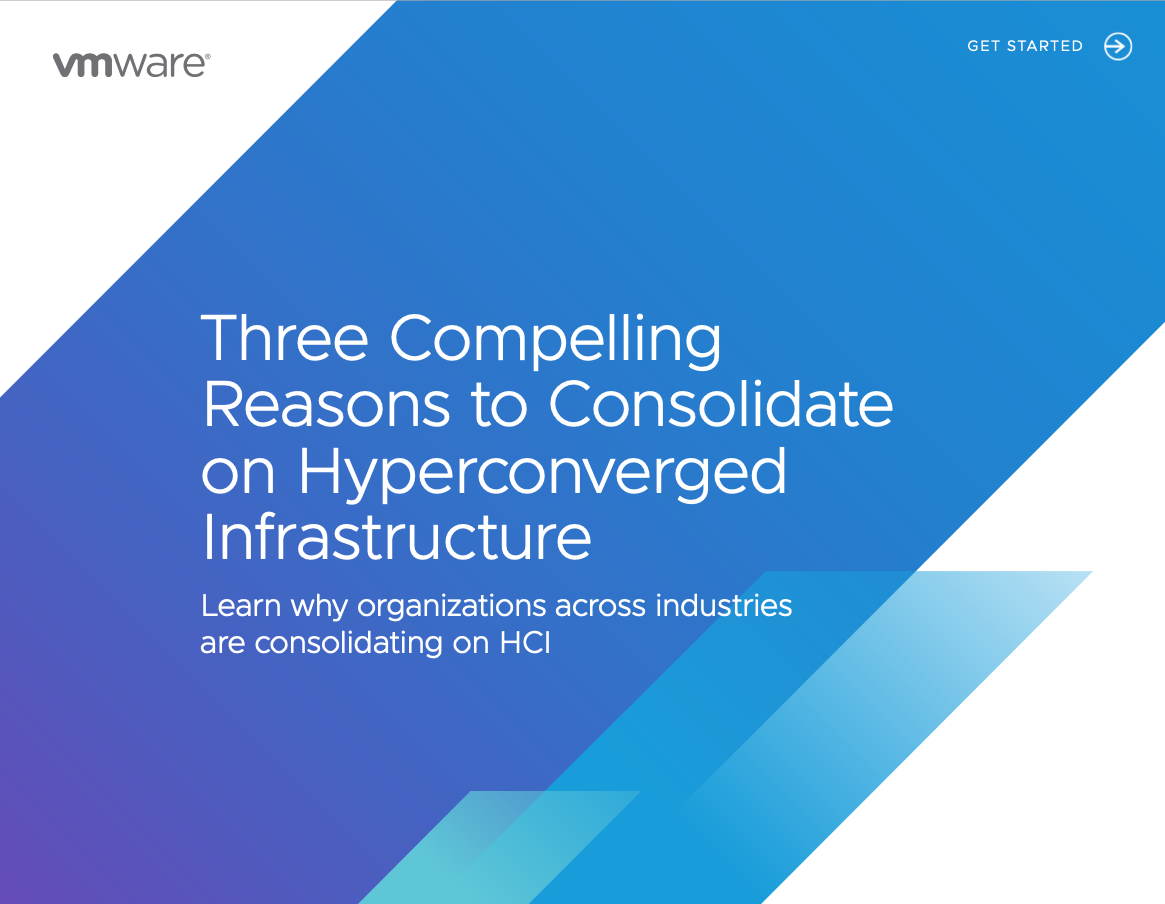 3 reasons to consolidate on hyperconverged infrastructure